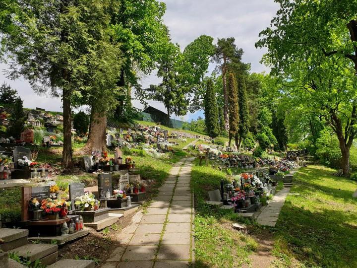 Cintorín v Liptovskom Hrádku.