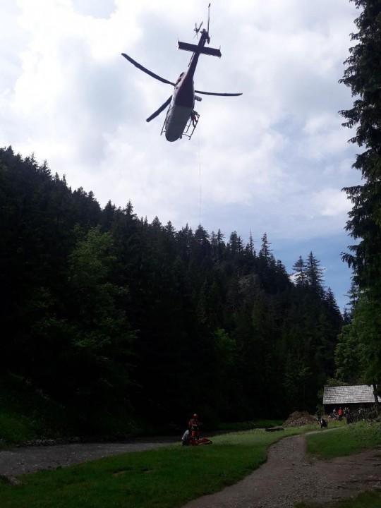 Foto: Horská záchranná služba.