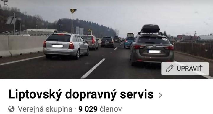 Liptovský dopravný servis.