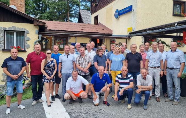 Po zasadnutí Združenia miest a obcí Liptova.